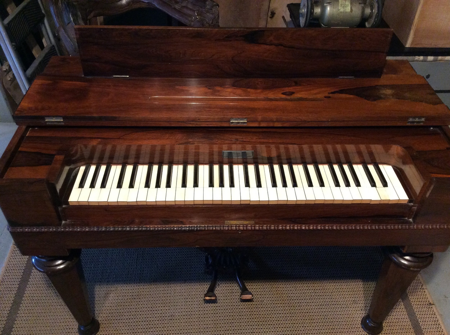 """I'm one of the few people in the U.S. to restore melodeons and pump organs......here's an 1850's """"Prince"""" restored to full working order."""