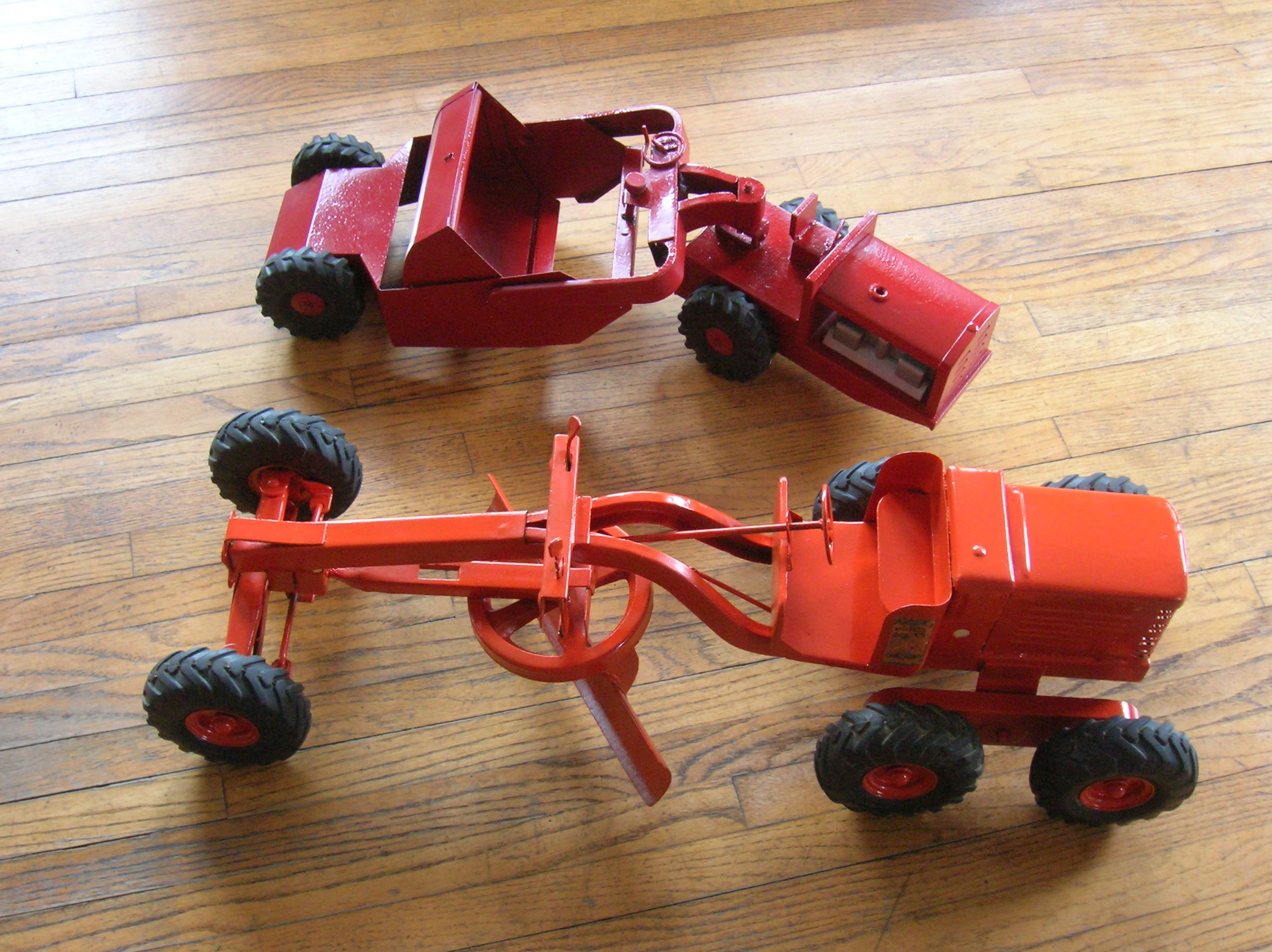 Antique toys are saved from rust and neglect.