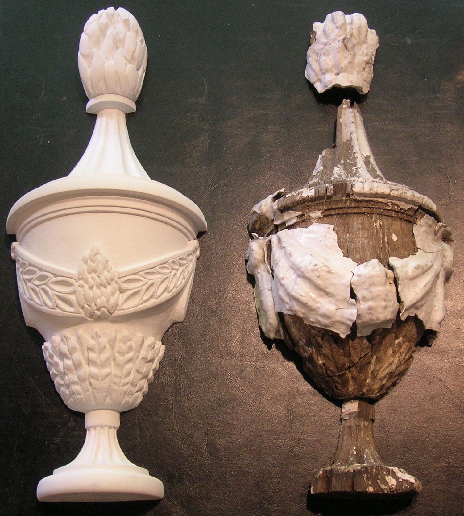 Re-carving of Architectural details.....this piece for the Pennsylvania Bar Association in Harrisburg.