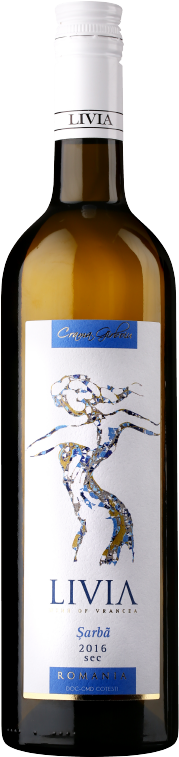 Sarba   A local variety created through the crossing between Tamaioasa Romaneasca and Riesling. This dry wine is lively, with high acidity, shiny greenish-yellow colour and an intense cherry blossom perfume.