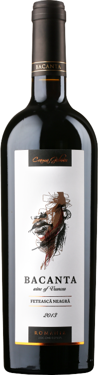 Feteasca Neagra   O Feteasca Neagra cu o culoare rosie granata ce impresioneaza prin arome puternice de prune si condimente ca scortisoara, anason si cuisoare completate cu note de piele. Este echilibrat cu tanini pronuntati si o aciditate bine integrata in corpul vinului. Impresioneaza printr-un post gust lung.