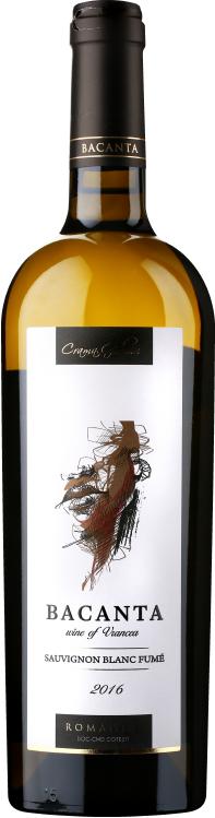 Sauvignon Blanc Fum  é   Un Petit Sauvignon Blanc care prezinta un nas mineral cu aspecte usor citrice. Aromele primare ale acestui vin sunt de lime, mere verzi si pomelo. Aciditatea ridicata si corpolenta vinului ii confera un gust crocant inconfundabil completat de note exotice. De preferat a se consuma cat mai tanar.