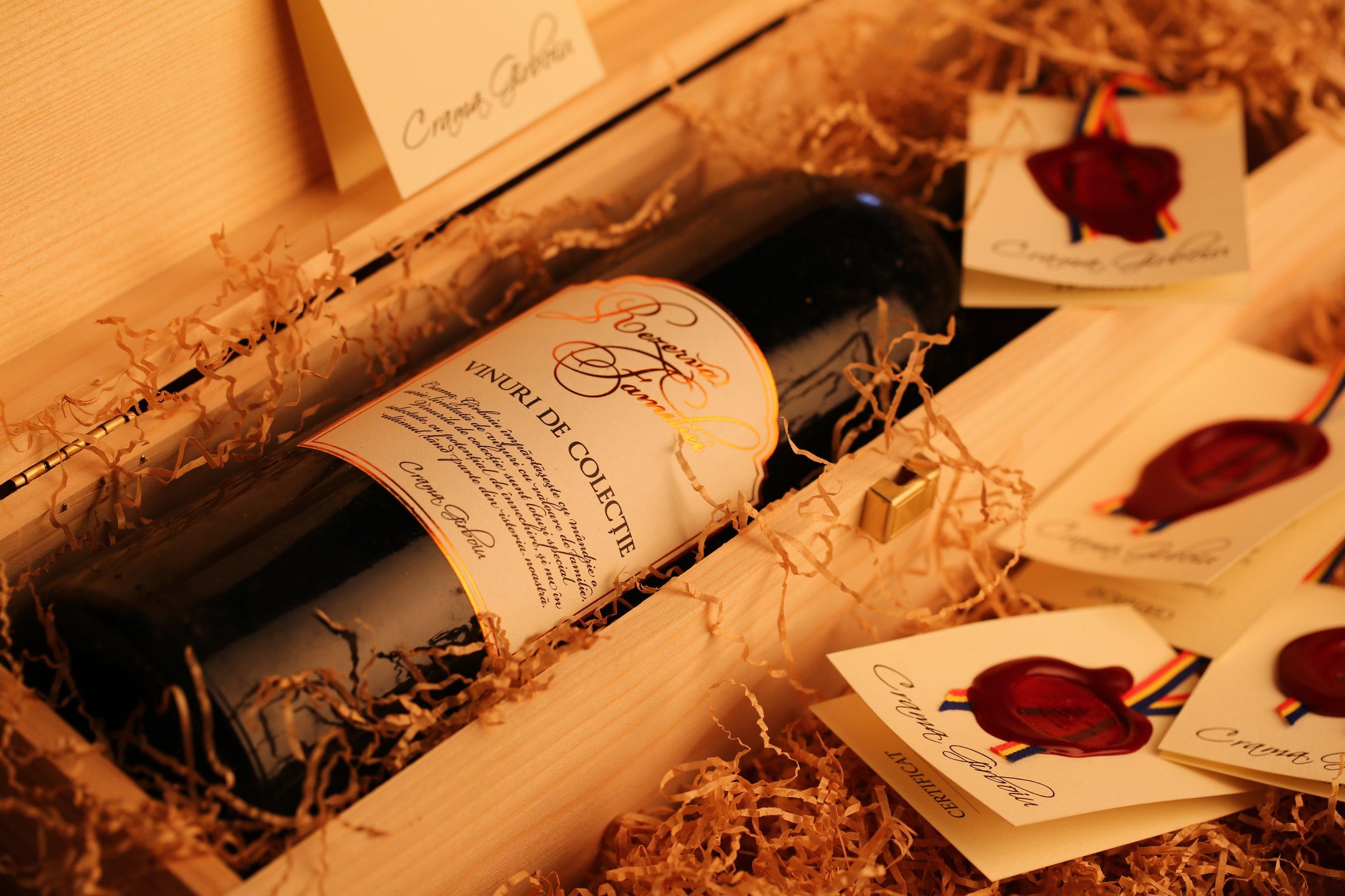 Vinuri de colectie - Rezerva Familiei
