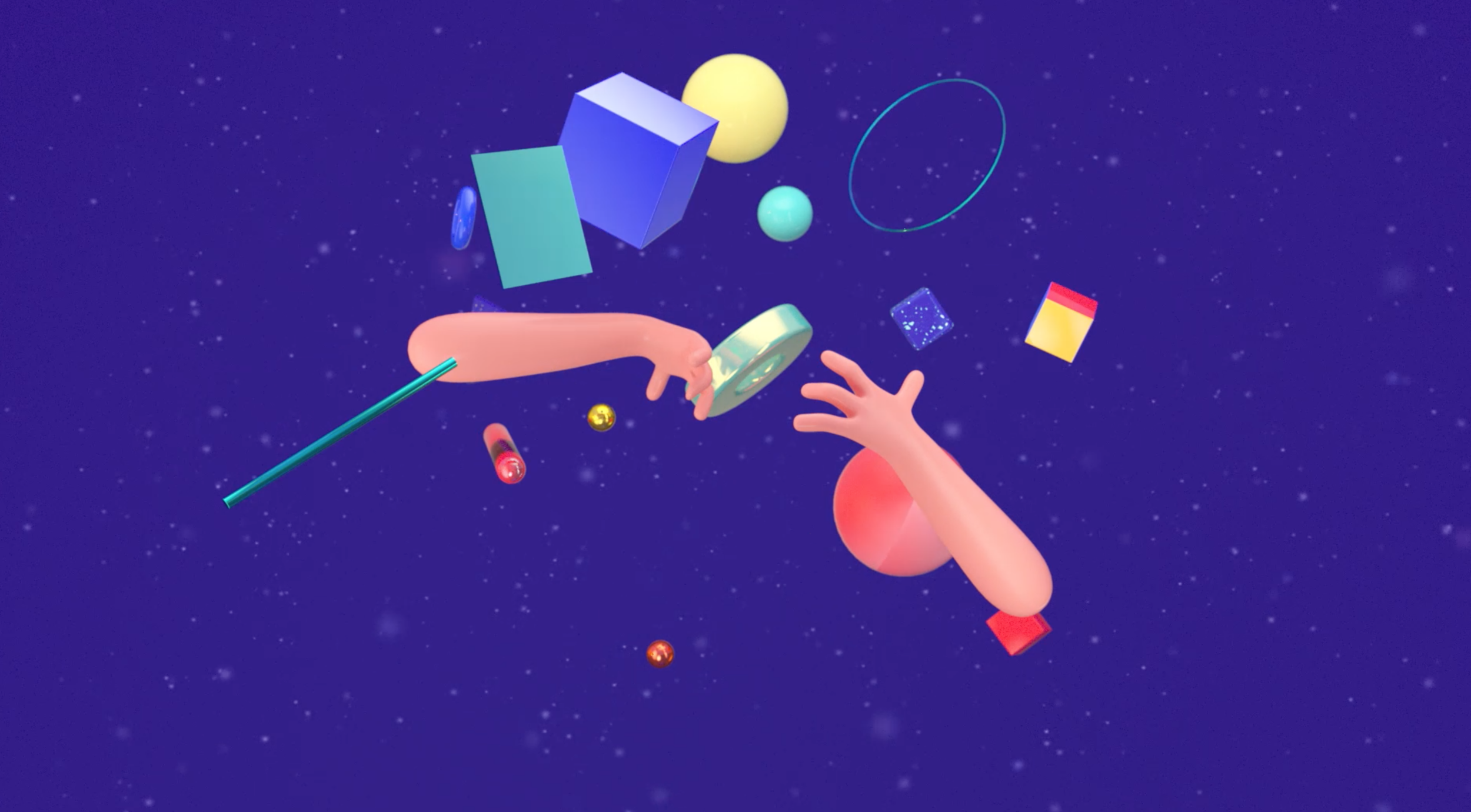 Meanwhile in Motion Designer's Crib - animation by Maxim and Johana Kroft