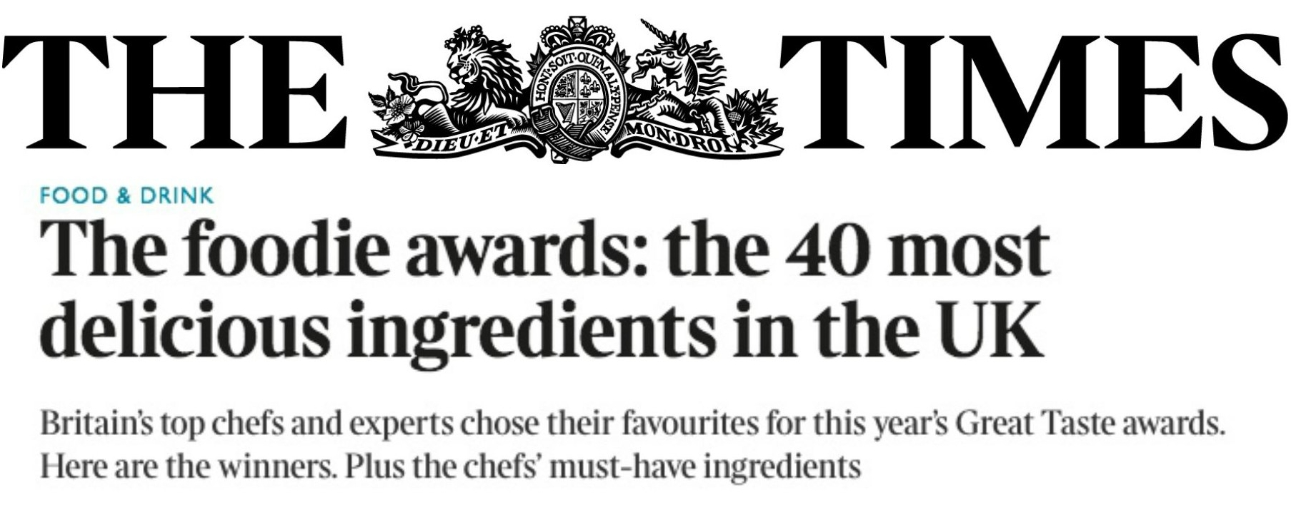 Pistachio Paste made it to this prestigious list.  Read what the editors think about it.