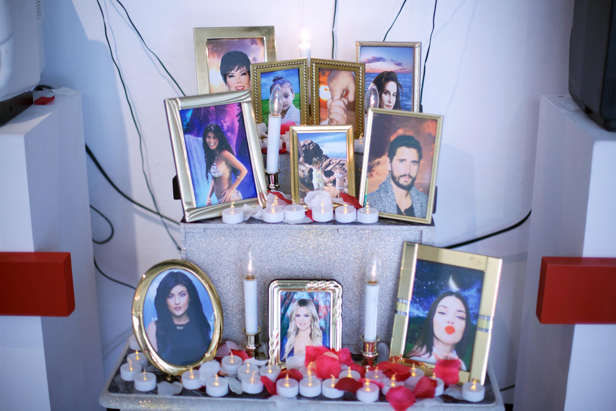 Kardashian Shrine (Detail)