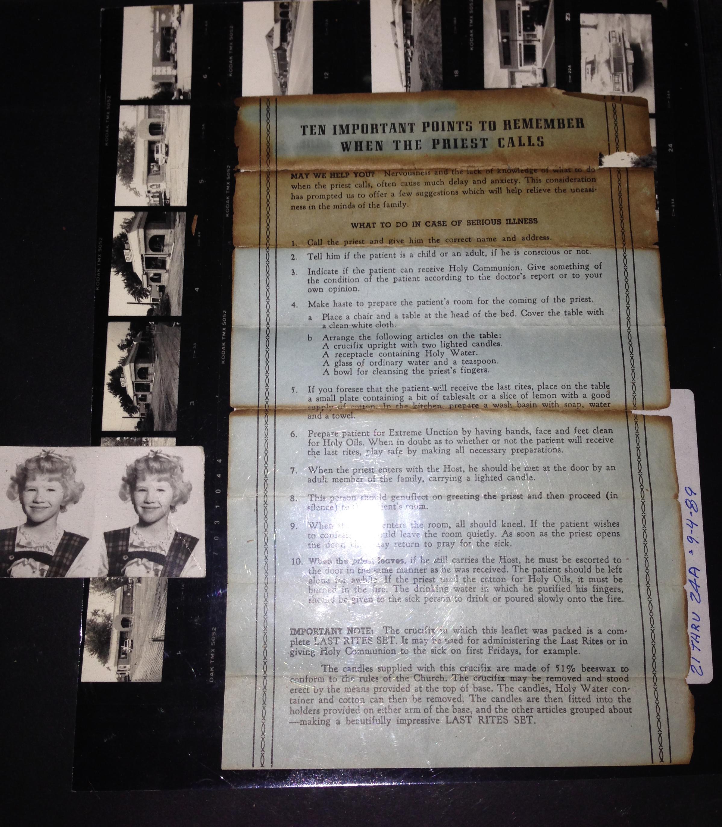 Paranormal Investigation Kit (detail)
