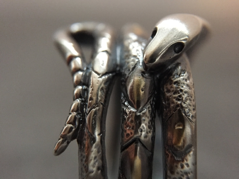 One of a kind Snake Ring gifted to someone special...