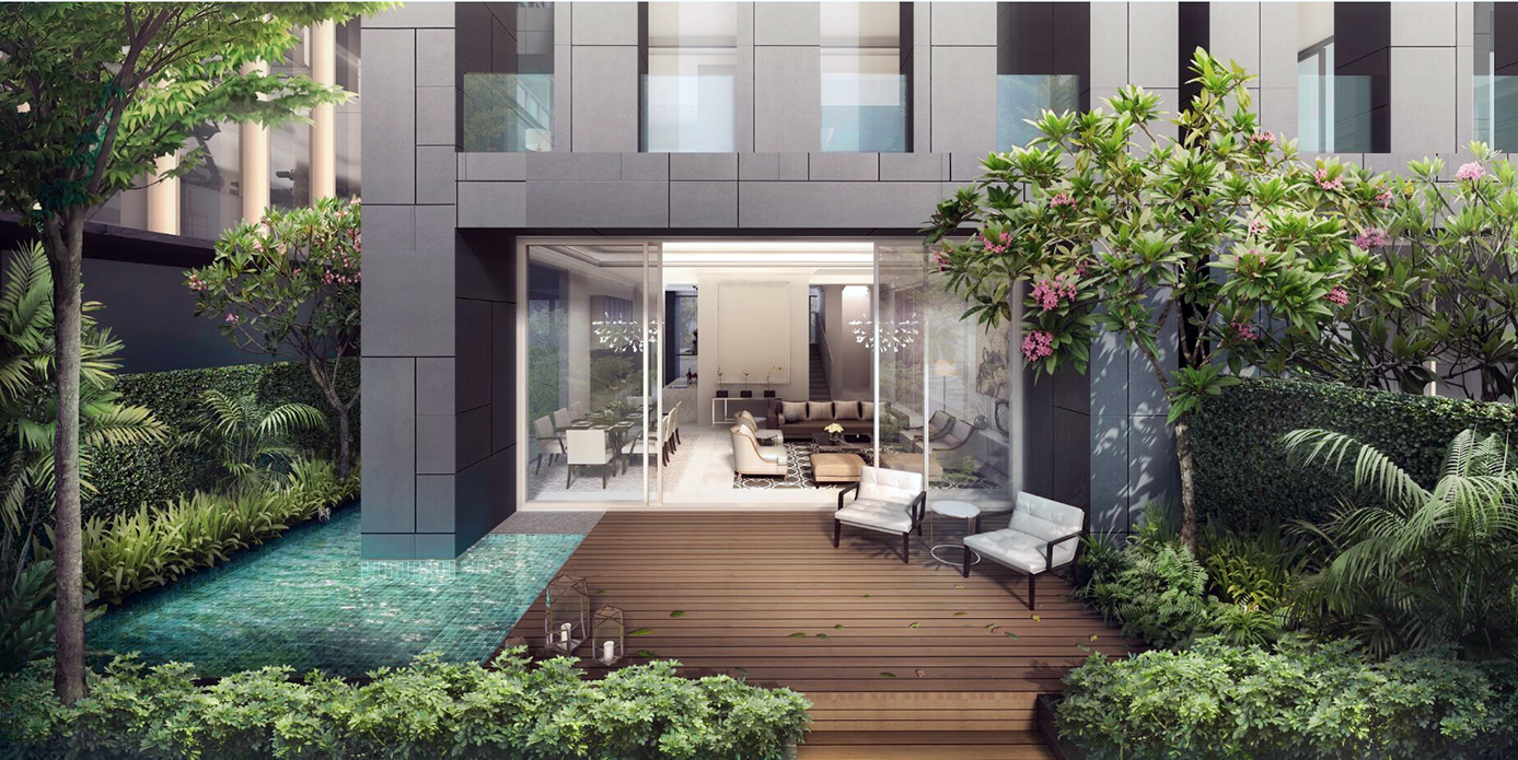 The Mews - Living/Dining & Terrace