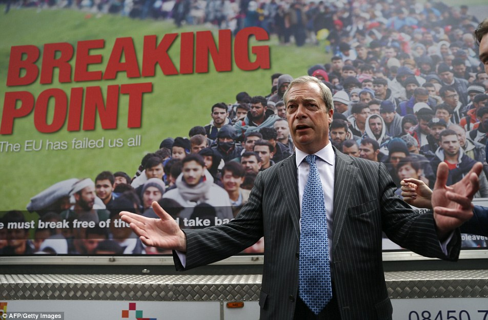 Nigel Farage (UK Independence Party or UKIP)