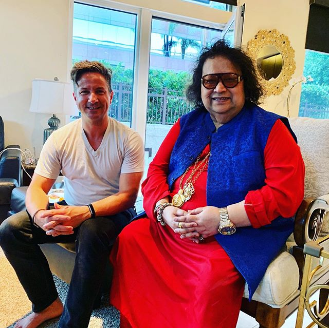 Such an incredibly unique and powerful experience to meet Bollywood music icon, Bappi Lahiri (@bappilahiri_official_). For 50 years Bappi has been making people chant, dance, sing, and jump up with joy with his strong anthemic sounds, disco numbers, and heartfelt prayers. I am so honored, Bappi! Thanks Mark Nguyen for the invitation!
