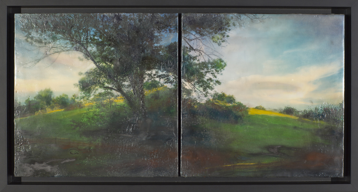 Traces VII, Diptych