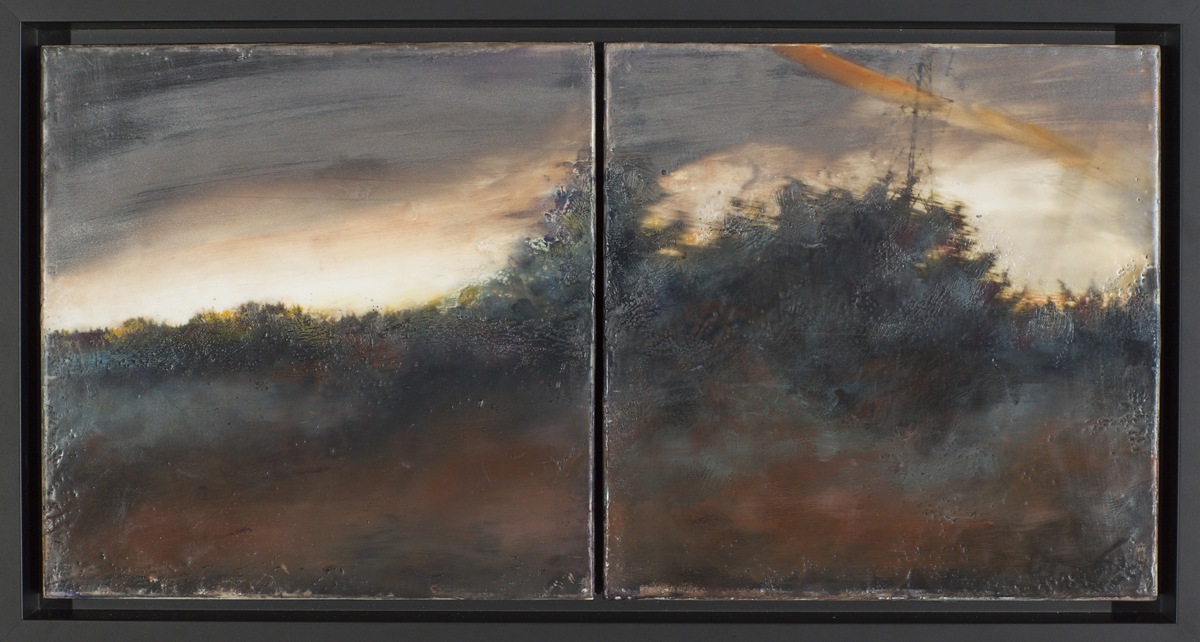 Traces IV, Diptych