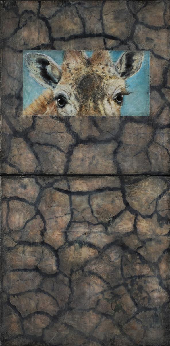 Giraffe I, Diptych