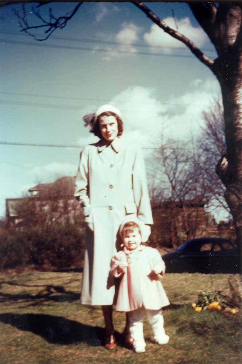 BETTY GENE WALKER & CATHERINE, 1949