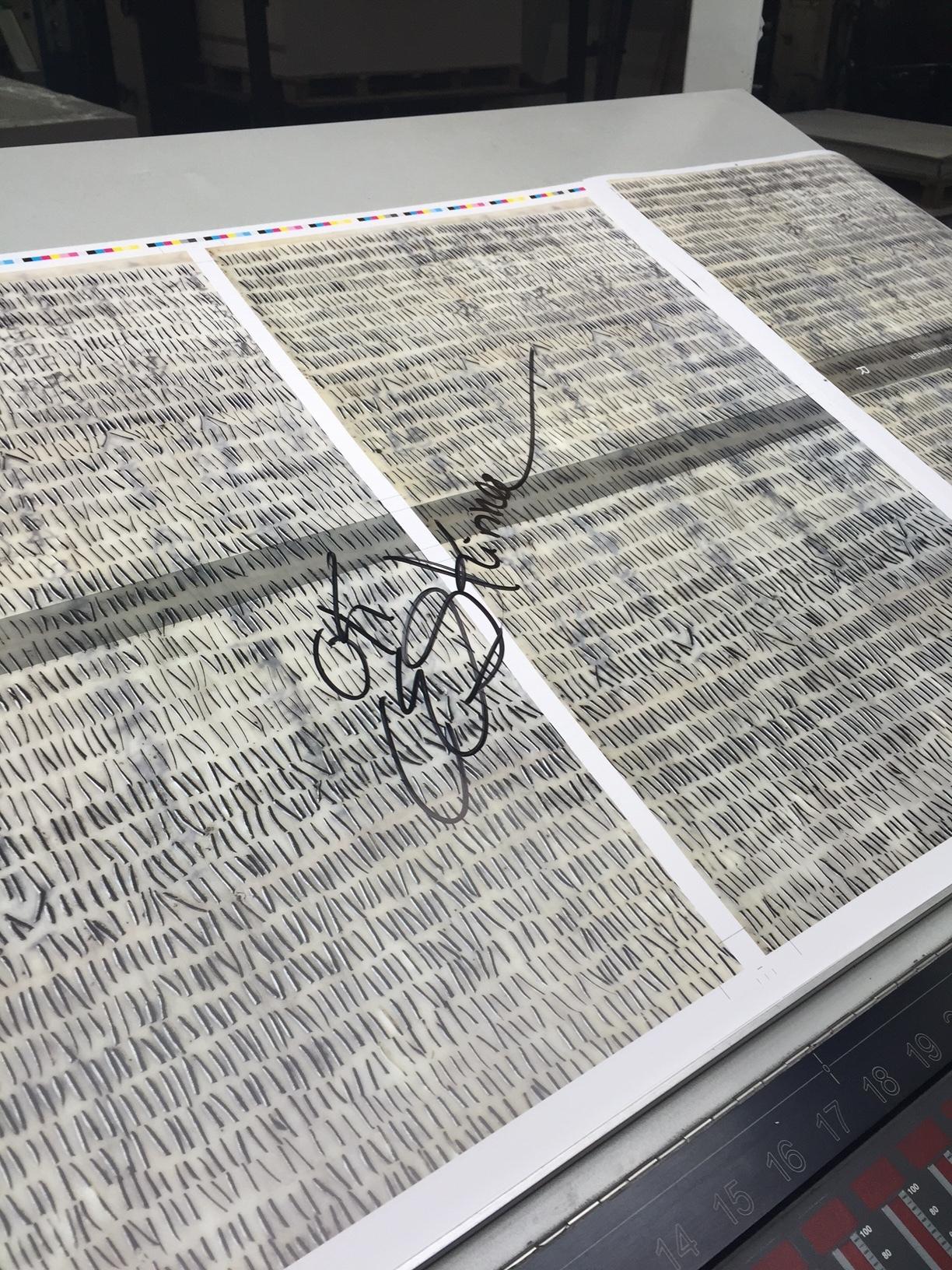 108 in print production Verona, Italy