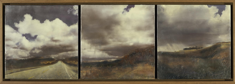 Traces Triptych (IX, X& XI)
