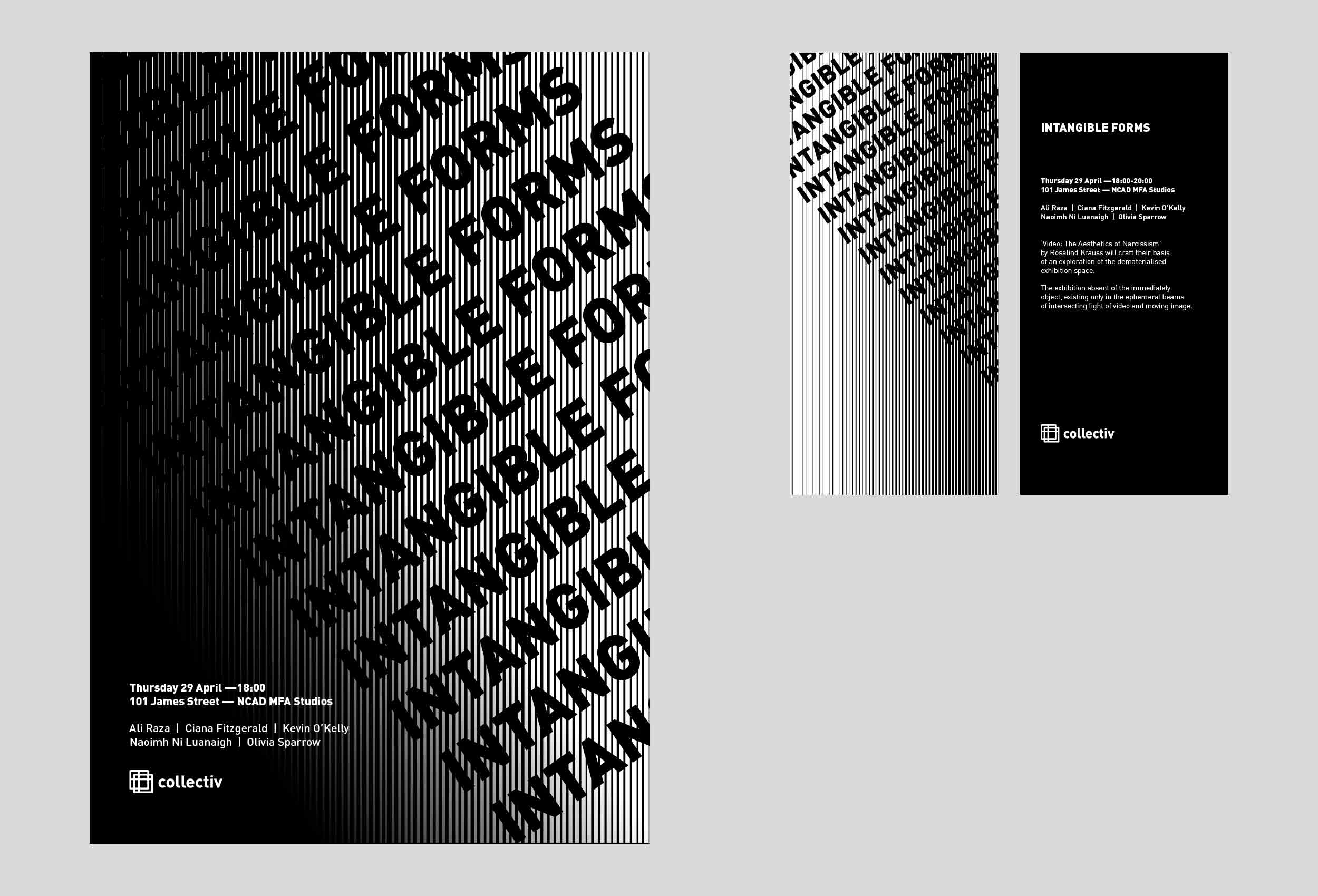 Exhibition poster and DL Brochure