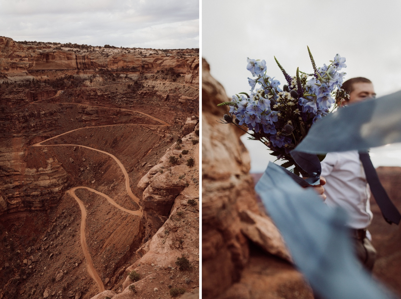 20_shafer_bridal_canyonlands_bouquet_adventure_road_wedding.jpg