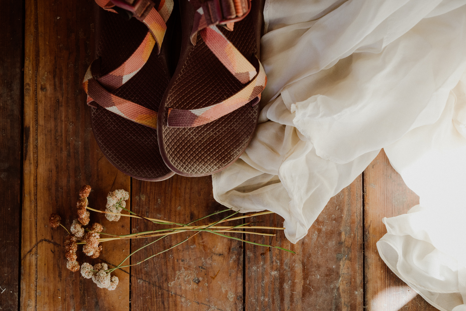 Chacos bridal shoes