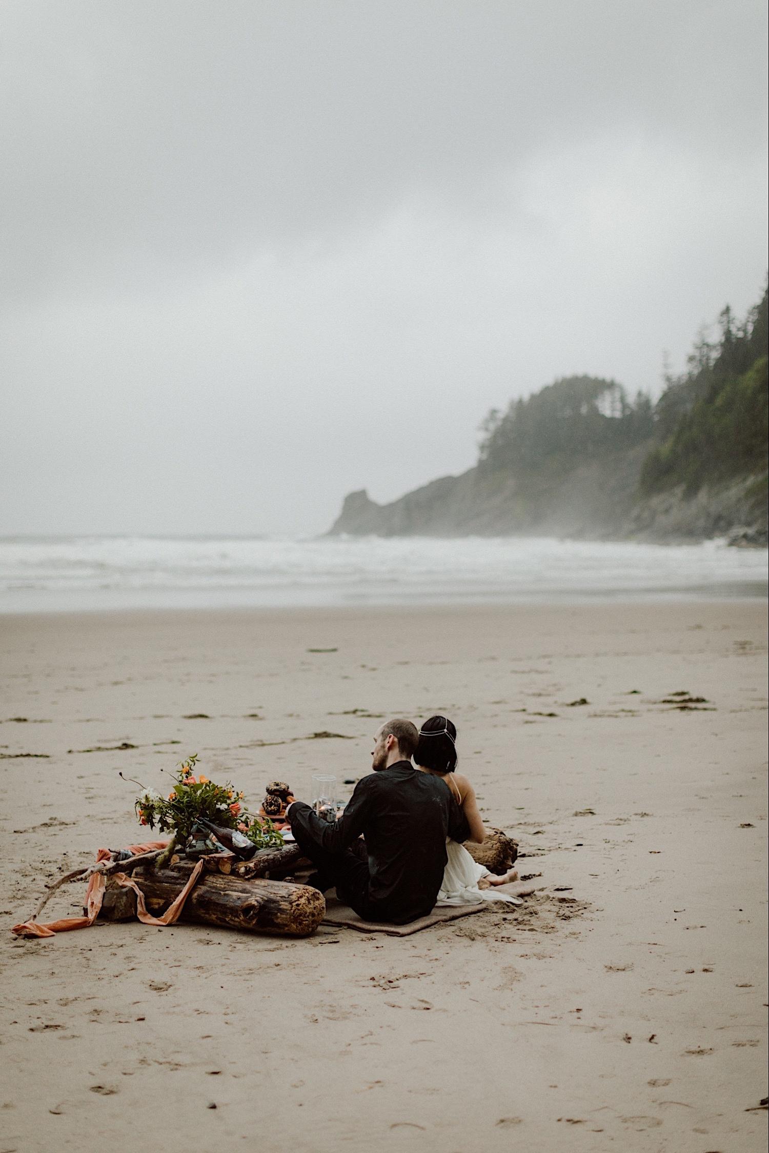 Non-Traditional Wedding in Oregon