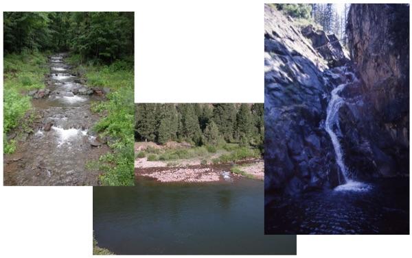 Figure 27.  Three feeder streams.