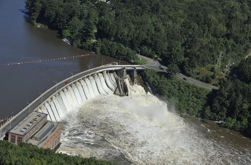 Stevenson Dam, Housatonic River, Connecticut