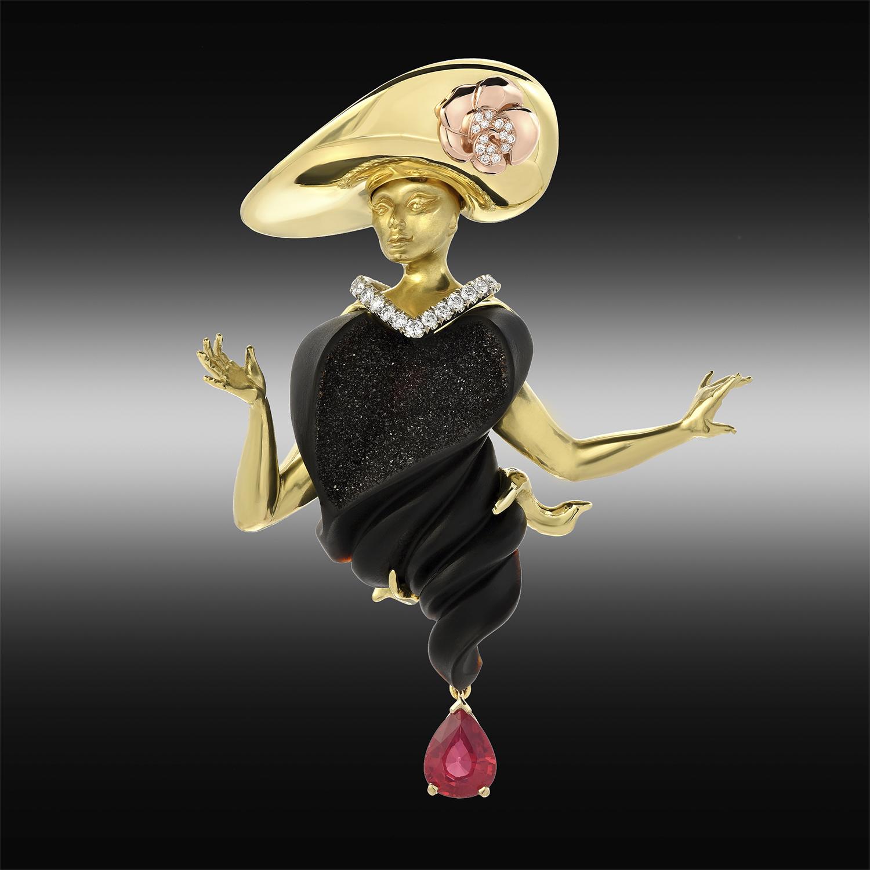 """""""Mata Hari"""" Garen Garibian Los Angeles, CA, USA"""