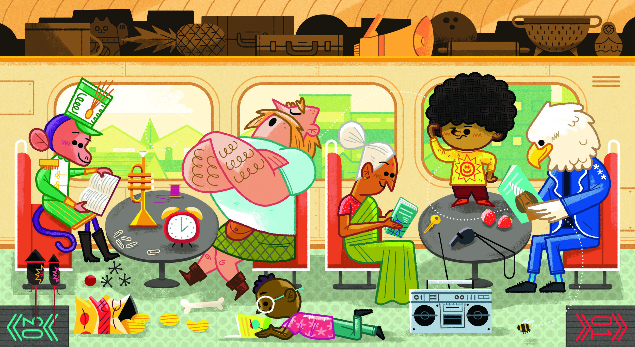 Preview All Aboard - Get a quick glimpse of Andrew Kolb's new board book!