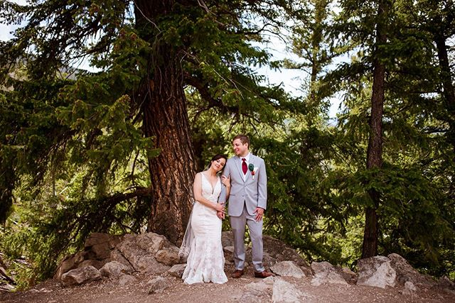 I'm in the thick of working on this wedding and I'm missing Colorado and this sweet couple!