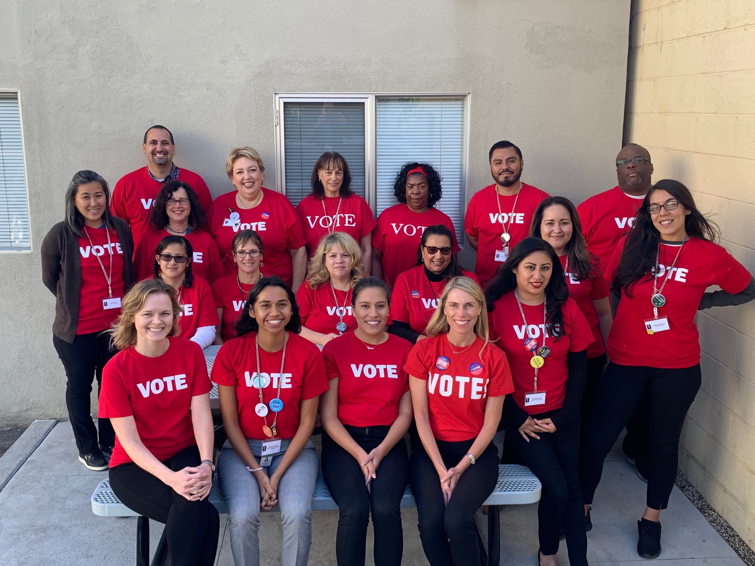 Red vote shirts.jpeg