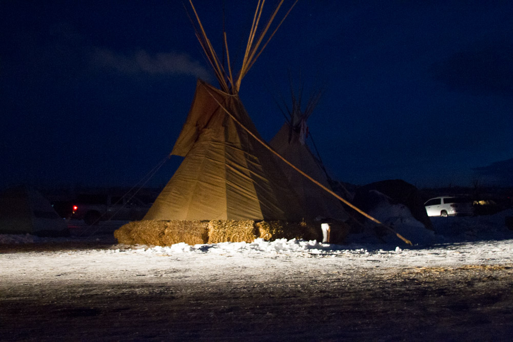 Photo taken in Standing Rock, North Dakota in 2016.