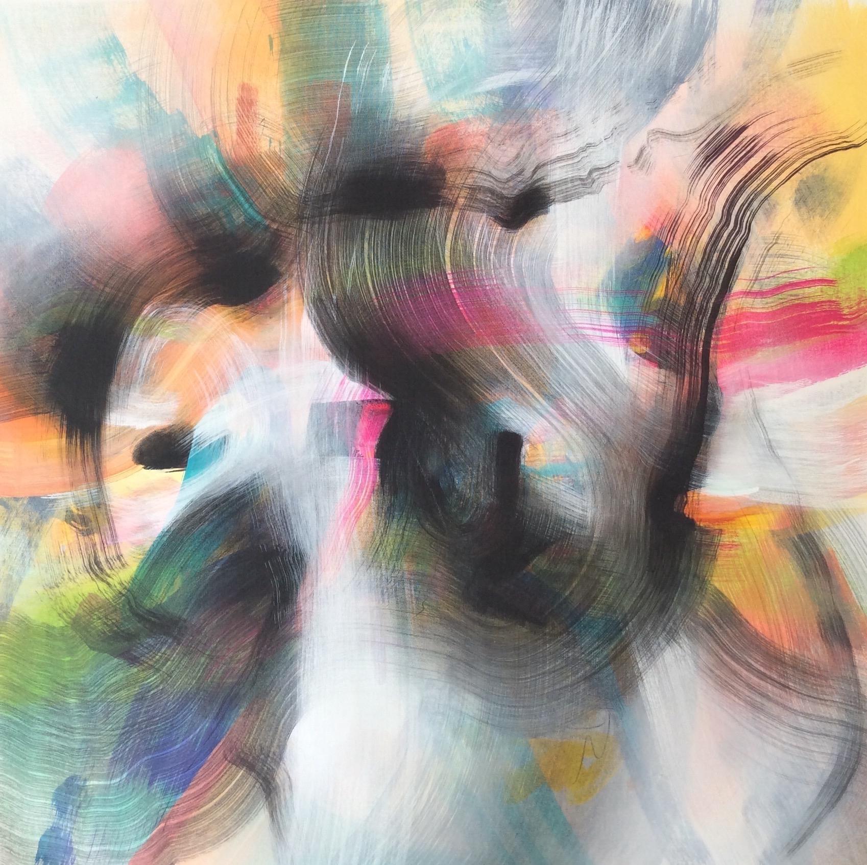 25''x 25'' Acrylic on canvas  $625