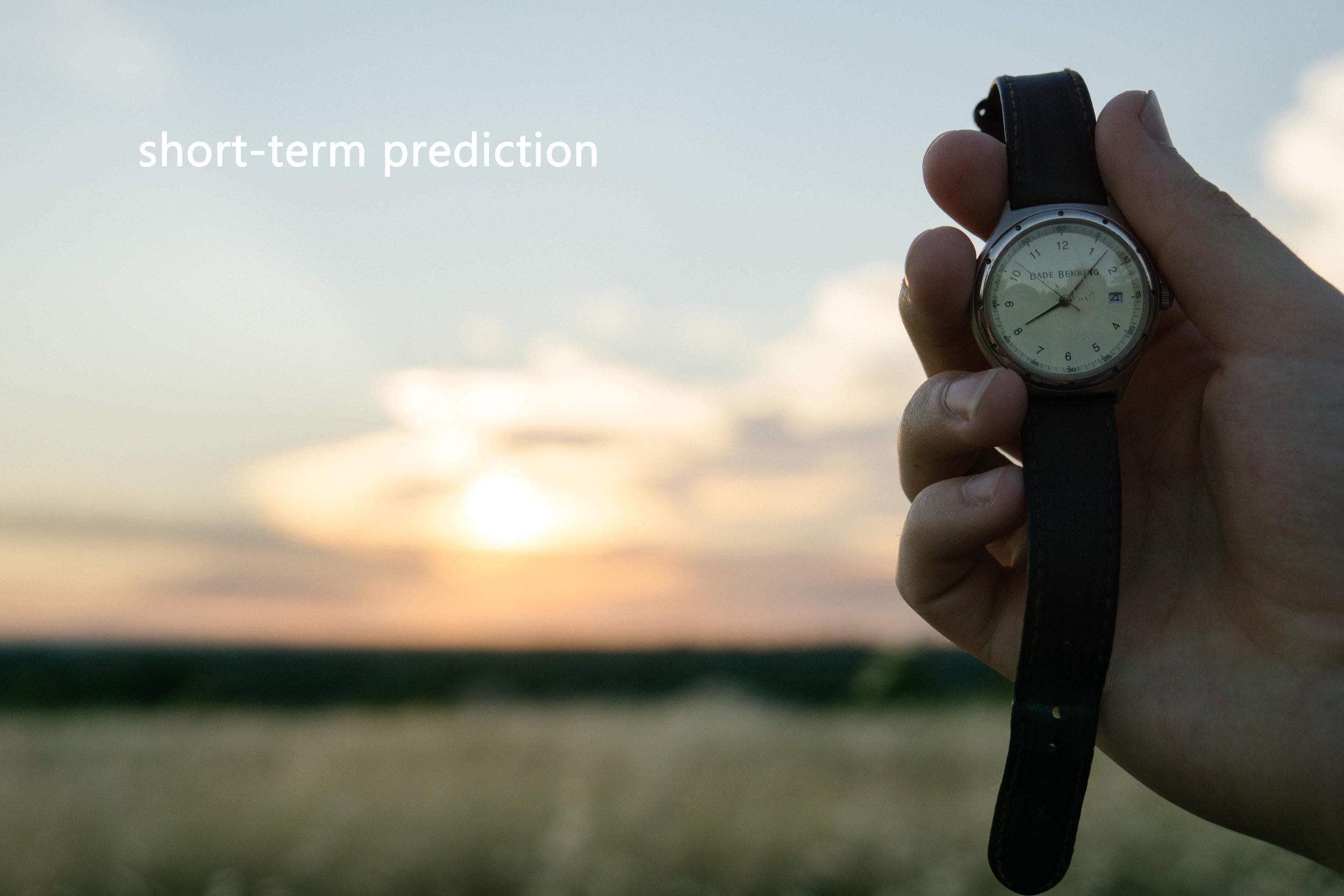 Short-Term Prediction