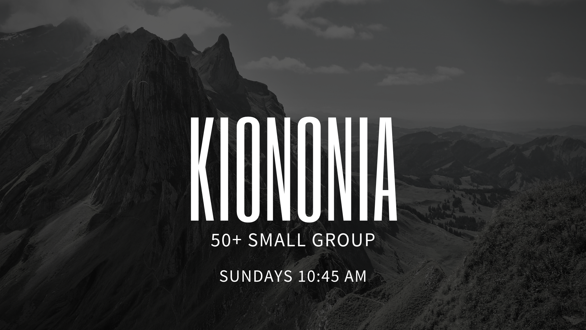 Led by Tom Saterfiel, this is a LifeGroup mainly for senior adults. They are community of likeminded and similarly aged adults striving towards Christlikeness. They meet from 10:45am - 12:00pm every Sunday morning in our Adult Bible Study hallway.