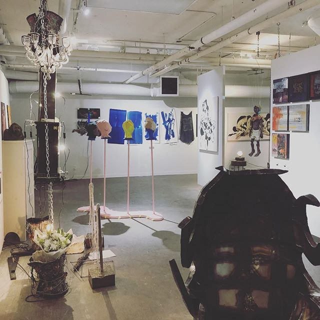 From our most recent show - UnCommon Power - we had 30 total artists participating for 2018!  Continued thank you to:  @thenrcsss  @reliancepropertiesltd  @therealdumplingking