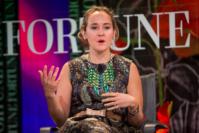 Alexa von Tobel, founder and CEO of LearnVest; via  Fortune Live Media on Flickr
