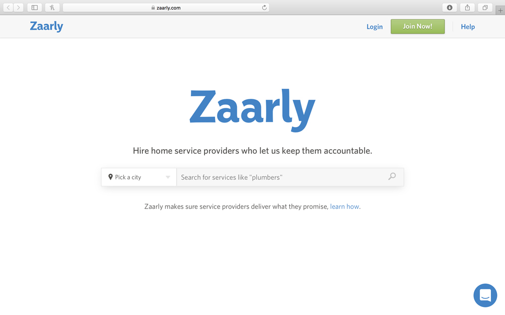 zaarly - Zaarly is a curated marketplace of exceptional carpenters, electricians, house cleaners, plumbers, landscapers and other service providers and partners built to connect homeowners and real estate professionals with the best businesses in their city. Zaarly is invite-only for small businesses and every business in the network has cleared an extensive vetting process that include customer reference calls, and multiple in-person interviews. Zaarly moderates all transactions on the platform to help with scheduling, project coordination and making sure every experience is sensational.