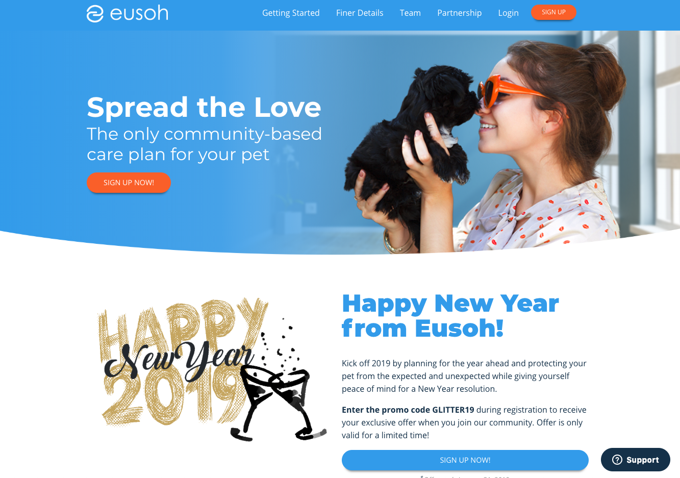 eusoh - Insurance is complicated, costly, and confusing, so we've developed a simpler, cheaper, and transparent alternative that helps loving pet owners share the cost of accidents, diseases, and preventative care within their communities.Eusoh(you-so) is different, let us prove it!