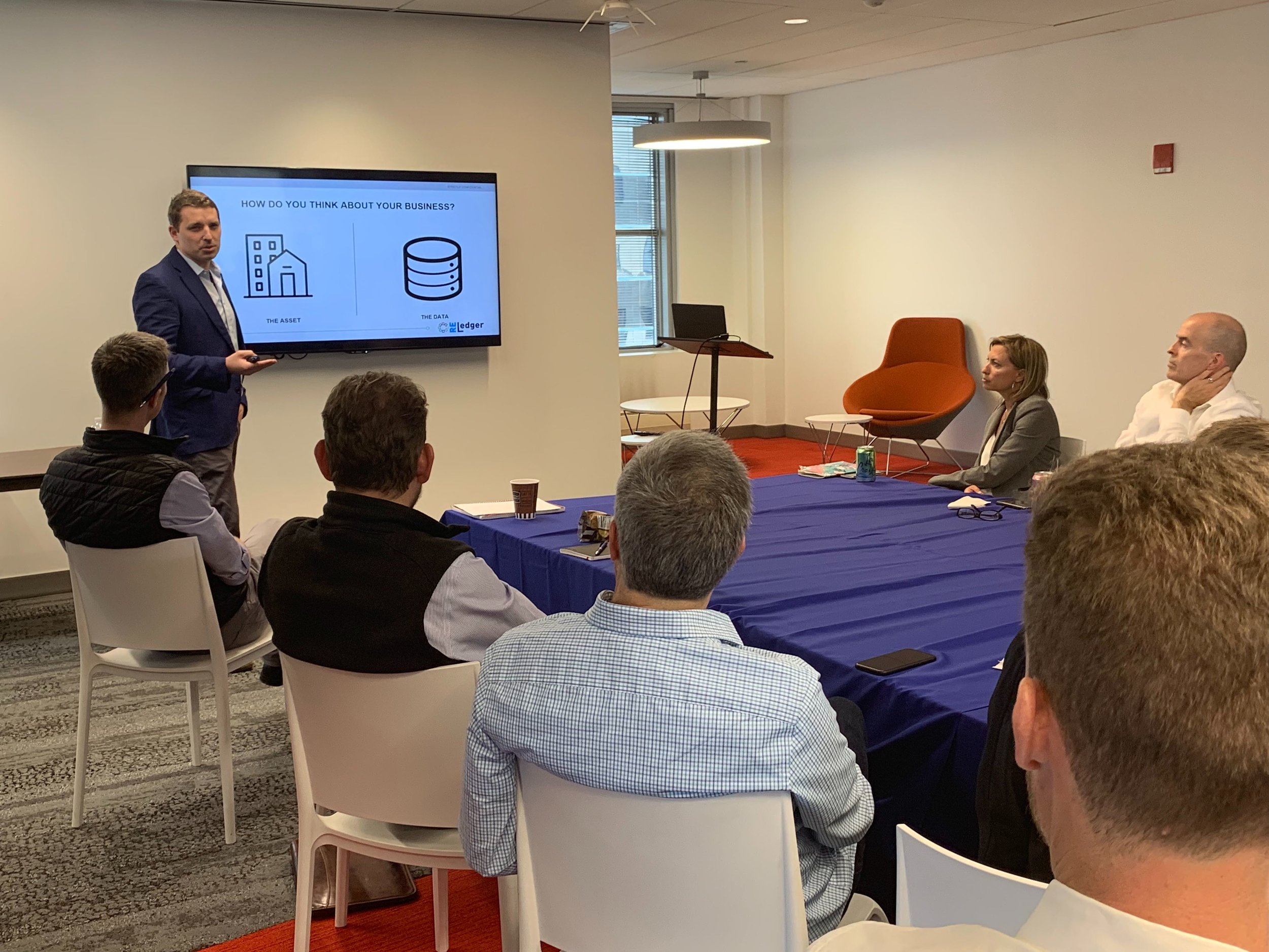 Oliver Ticker, founder and CEO of StreetWire, discusses blockchain's role within real estate's MLSs, with Equity Group's executive leadership.