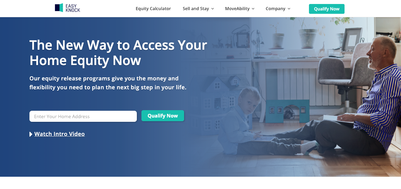 EASYKNOCK - EasyKnock partners with real estate agents and brokers to help their clients' access equity for down payments, home improvements and to bridge new home purchases.