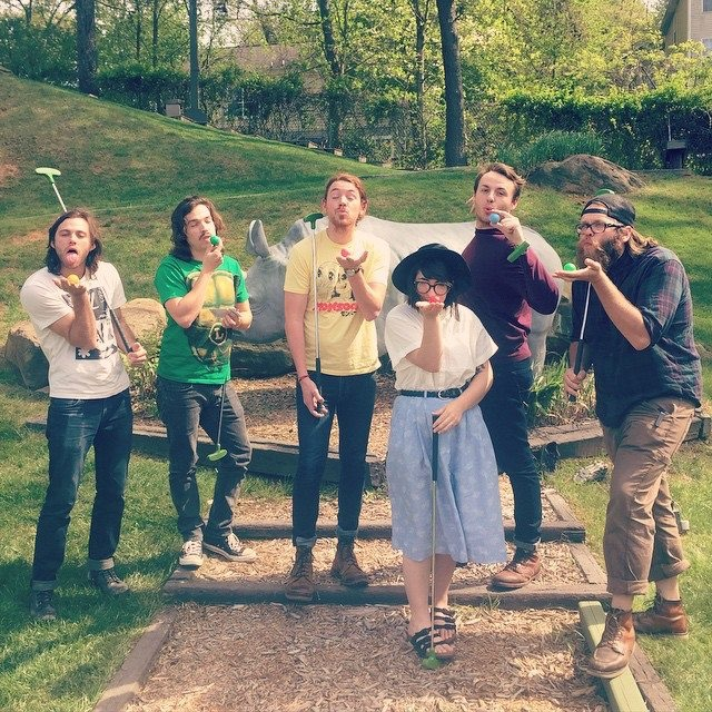 Georgia Indie Rockers (feel like my) Family and Friends
