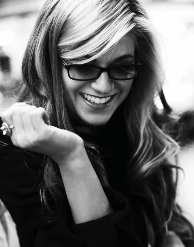 Melody Gardot smiles because she wants to.