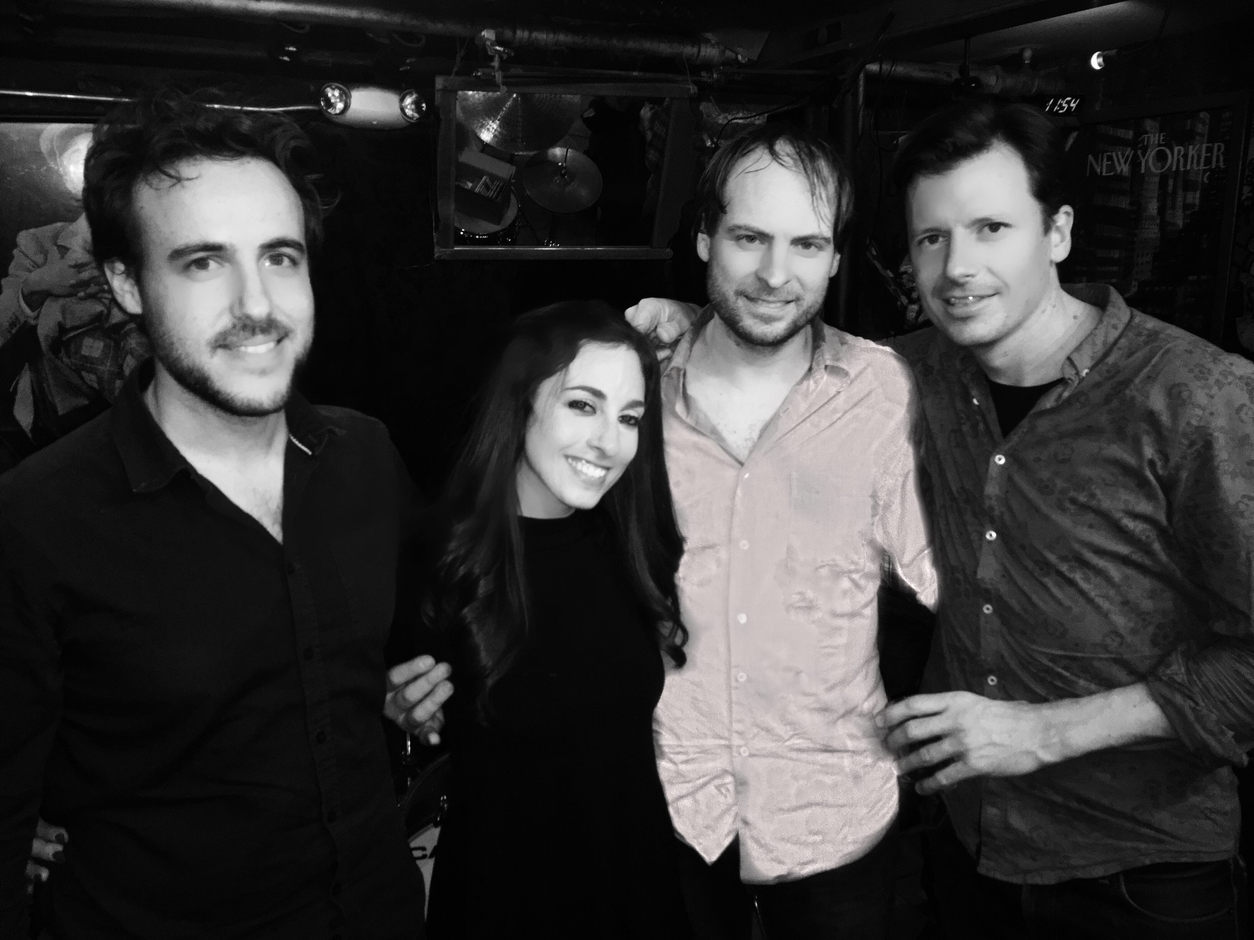 The Ari Hoenig 3 + 1 (Me 😬 ) @ Smalls Jazz Club 2-13-17