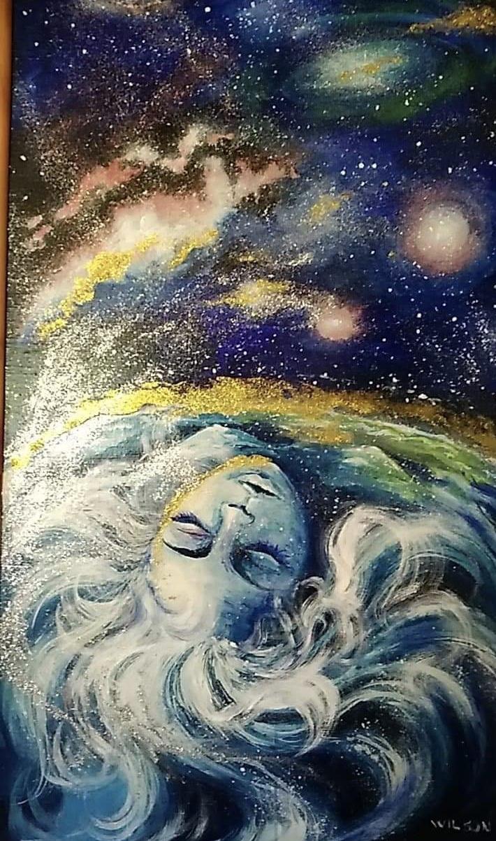 """Sleeping Earth"" by Ms. Eva Wilson"