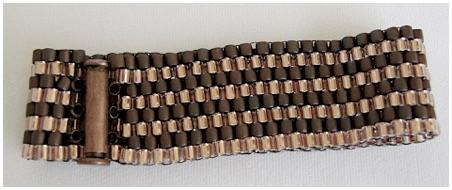 DOUBLE  COPPER  PEYOTE STITCH BRACELET.jpg