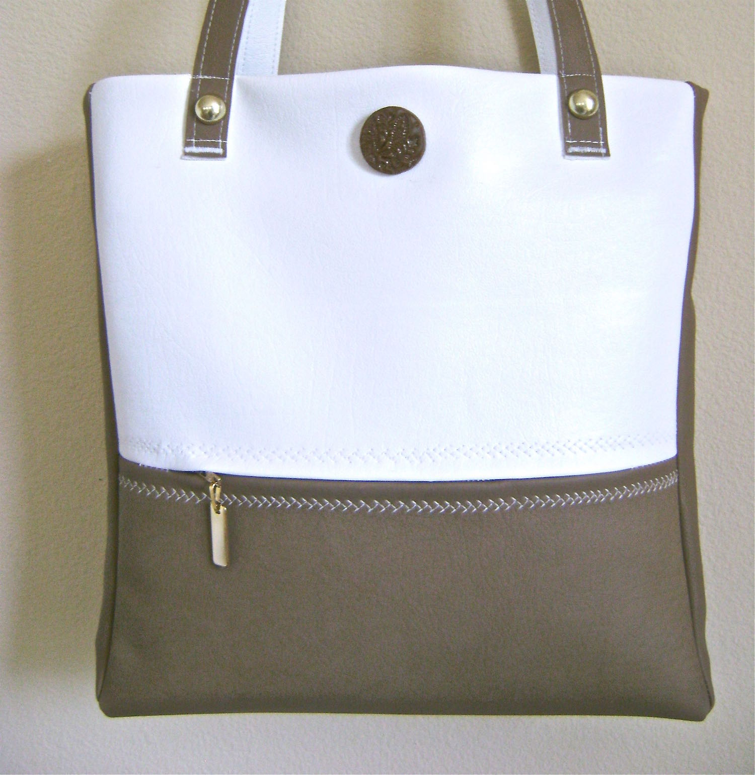 """No Pattern Required  bag measures 14"""" x 13"""""""
