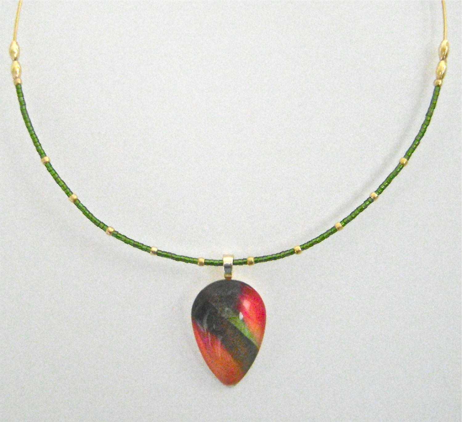 necklace measures 18""