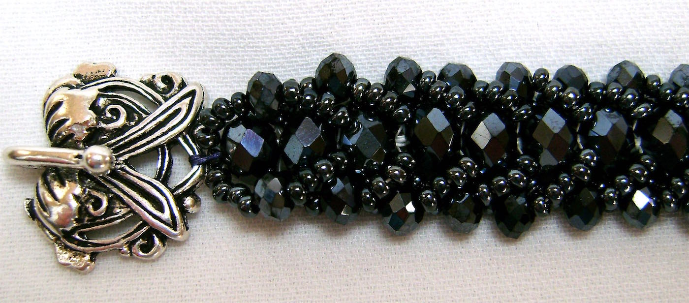 All midnight blue beads - 11/0 seed beads, 4mm and 6mm rondelles