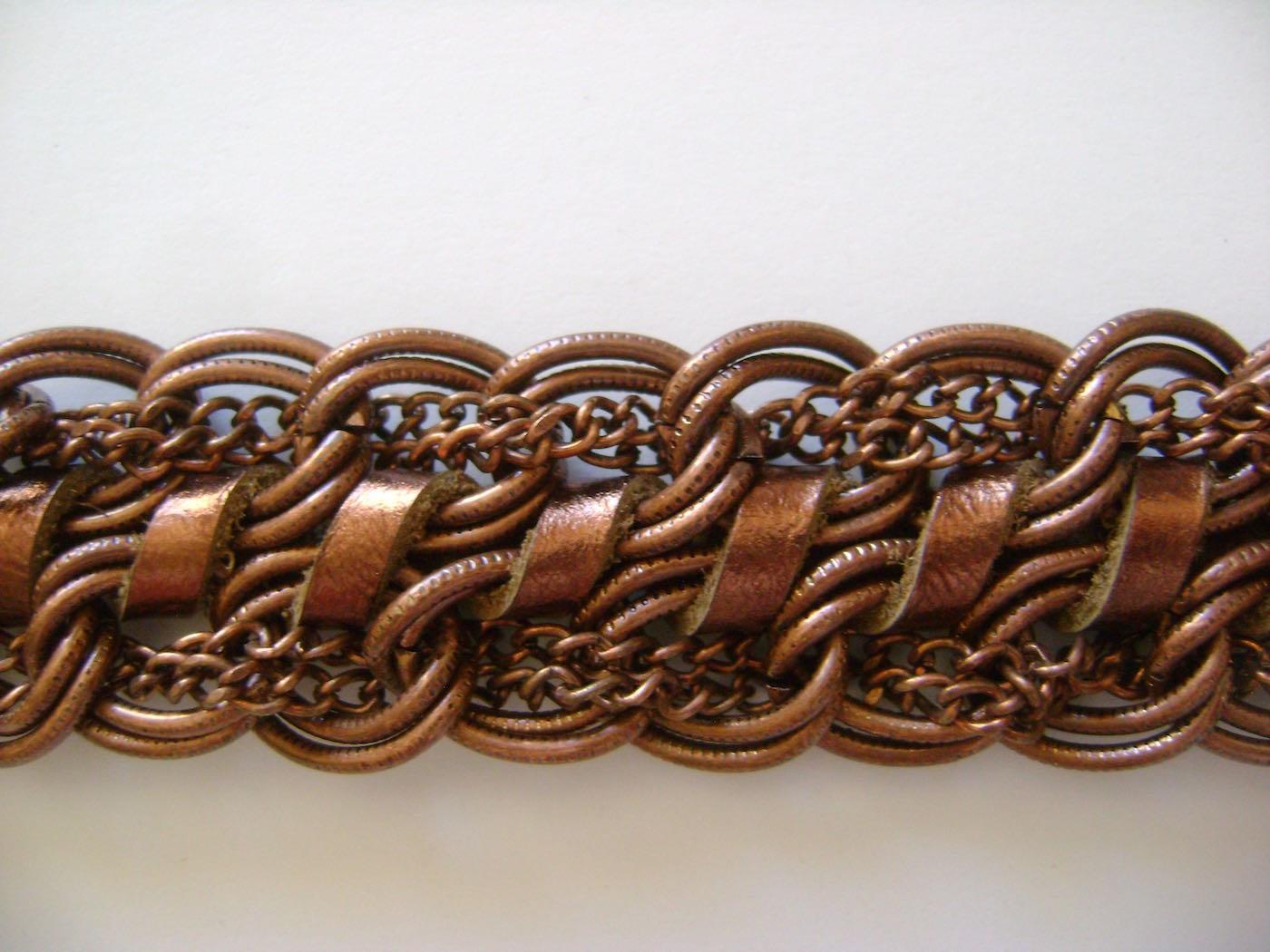 "bracelet measures 6.50"" long, 1"" wide"